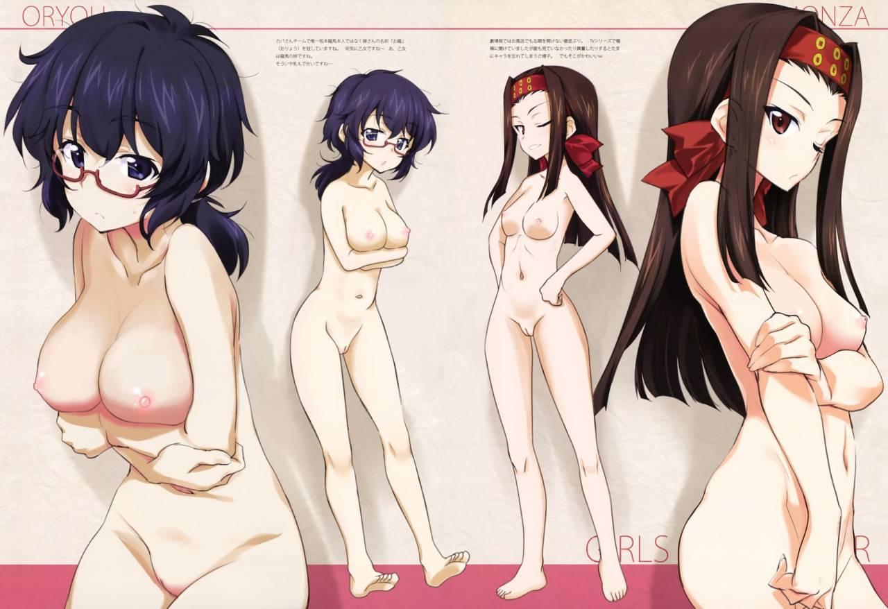 Und nude girls panzer Girls und