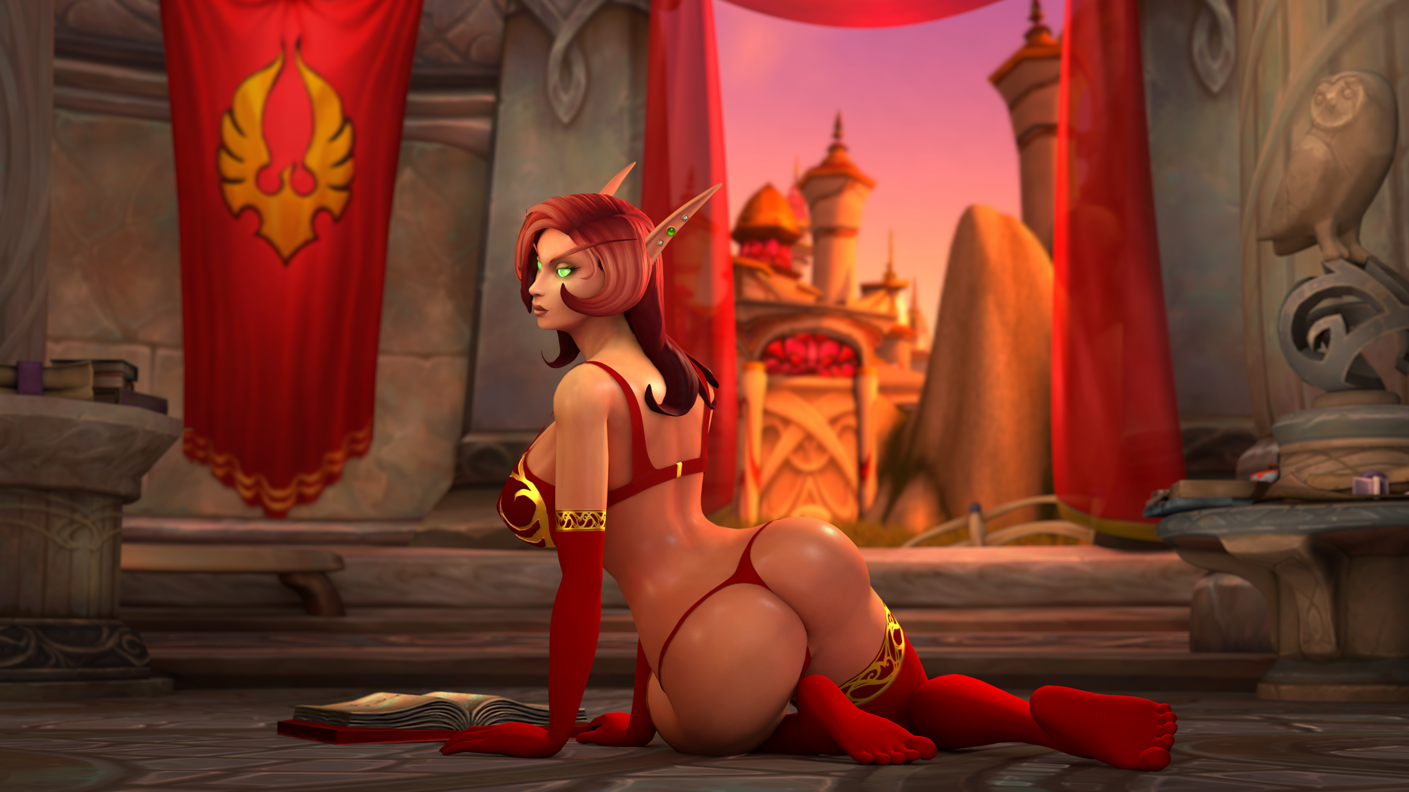 Finally new blood elf models